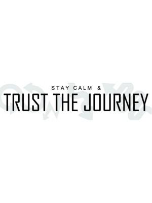 Trust the Journey Bumper Sticker