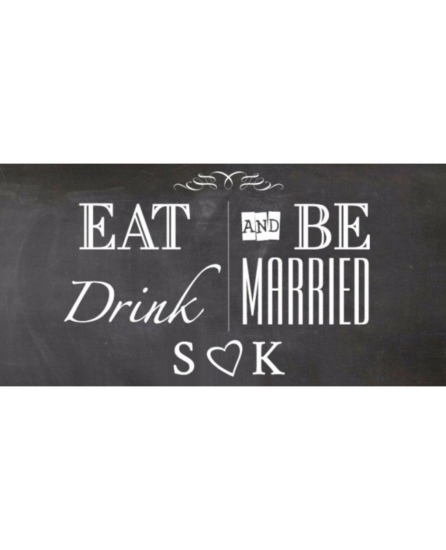 Eat Drink And Be Married Wine Labels Wedding Wine Labels: Eat Drink And Be Married Label