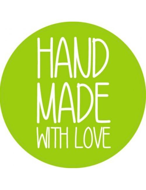 Hand Made with Love Label