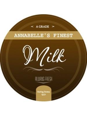 Annabelles Dairy Milk Label