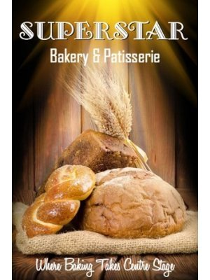Superstar Bakery and Patisserie Label