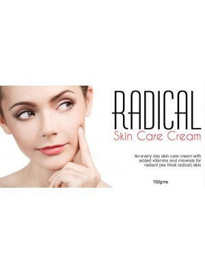 Radical Every Day Skin Cream Label