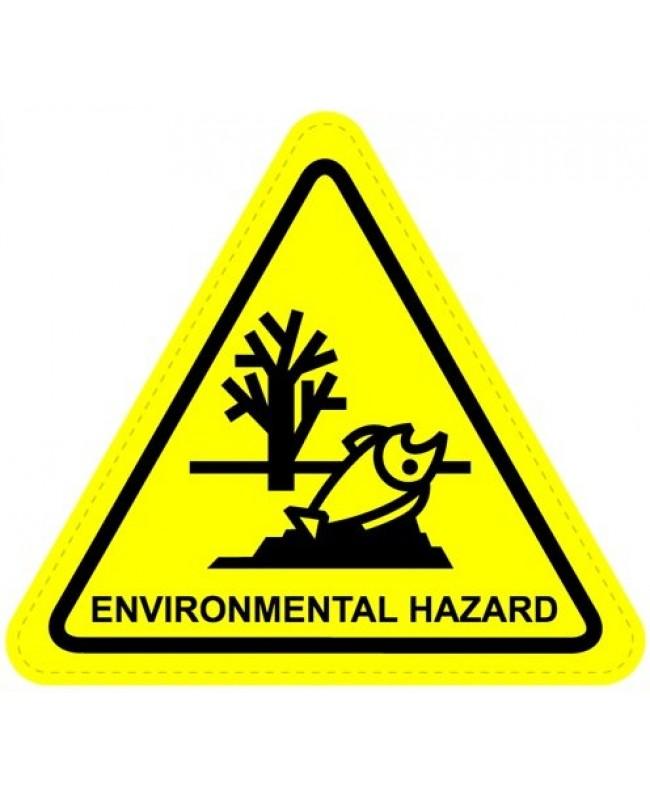 Enviromental Hazard Sign Sticker
