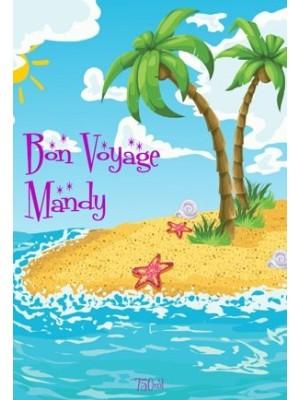 Bon Voyage Wine Label