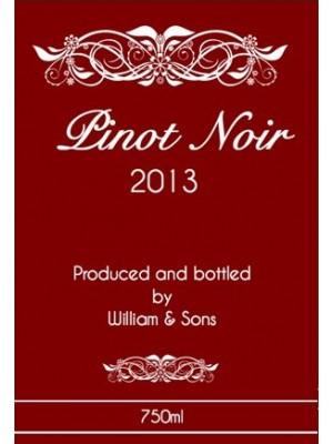 Red Esprit Wine Label