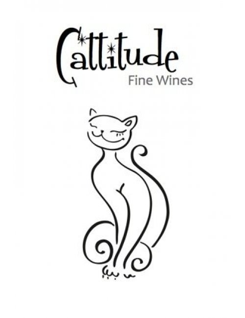 Cattitude Wine Label
