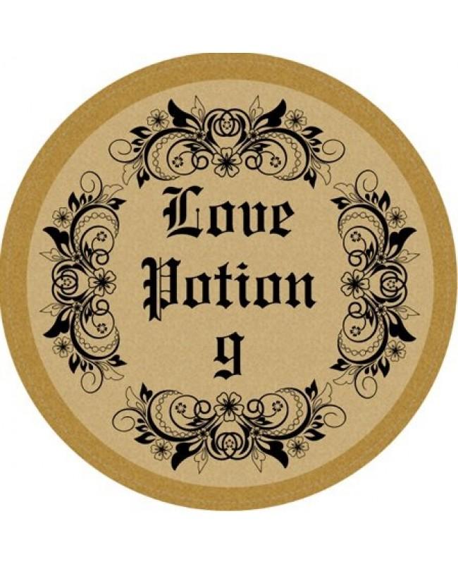 Love Potion Drink Labels: Love Potion Circle Wine Label