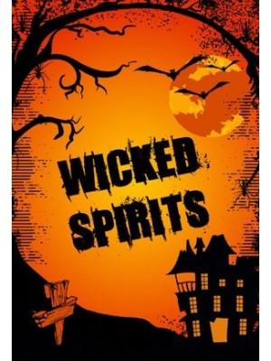 Halloween Wicked Wine Label