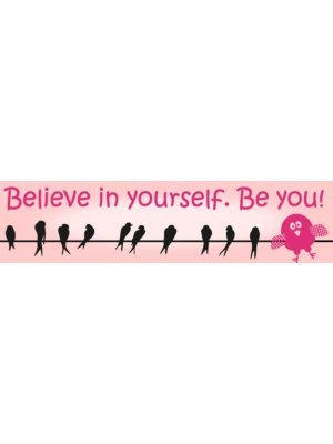 Believe In Yourself Bumper Sticker