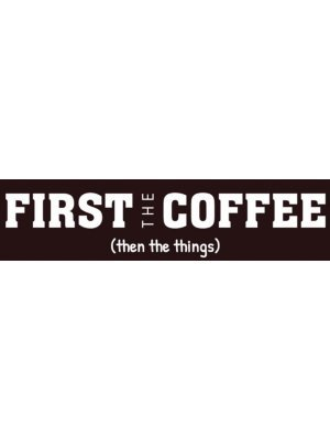 First the Coffee Bumper Sticker