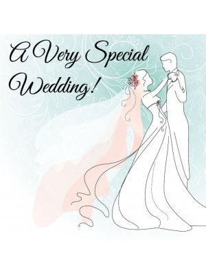 A Very Special Wedding Label