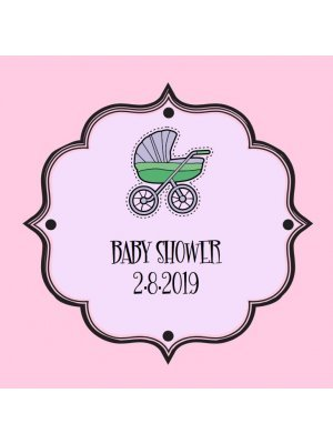 Baby Shower Label