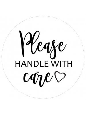 Please Handle With Care Courtesy Label
