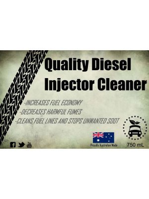 Quality Injector Cleaner Mechanic Label