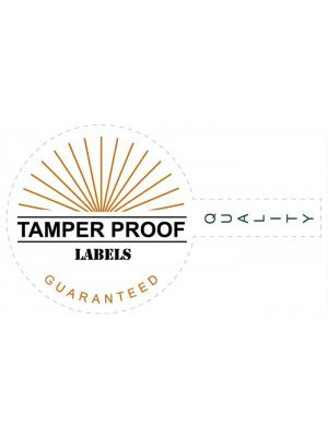 Tamper Proof Label