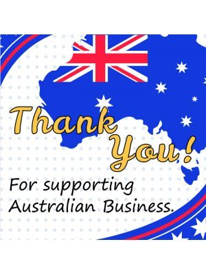 Thank You for supporting Australian business Label