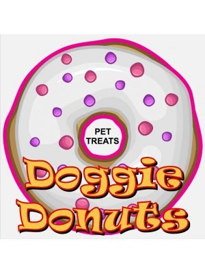 Doggie Donuts Label