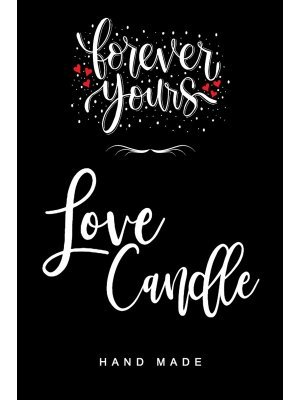 Love Candle Label