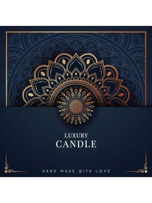 Luxury Candle Labels