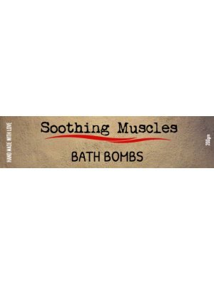 Soothing Muscles Bath Bomb Wrap