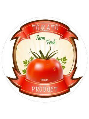 Tomato Product Label