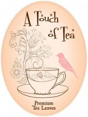 A Touch of Tea - Tea Leaves Label