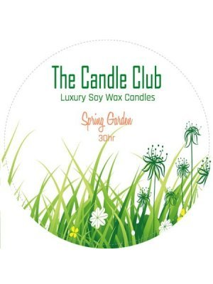 The Candle Club Round Label