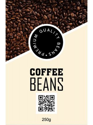 Coffee Beans Label