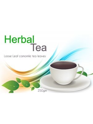Herbal Tea Packet Label