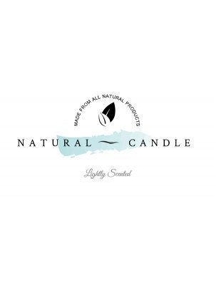 Natural Candle Label