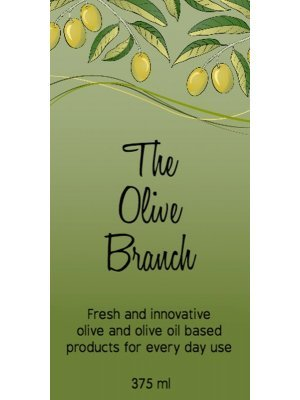 Olive Branch Olive Products Label