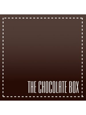 The Chocolate Box Square Label