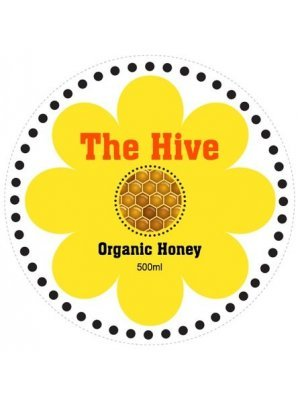 Honey Jar Round Label