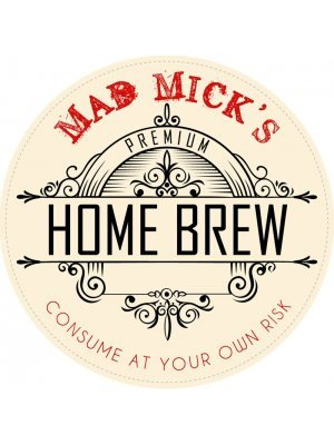 Home Brew Beer Tap Decal
