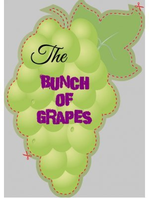 Bunch of Grapes Shaped Label