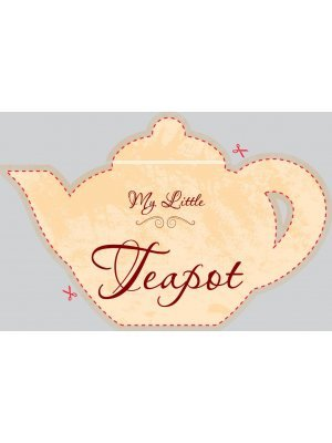 Teapot Shaped Label