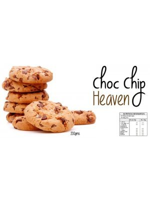 Choc Chip Cookie Heaven Label