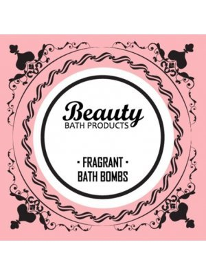 Beauty Bath Bombs Label
