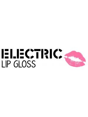 Electric Lip Gloss Makeup Label