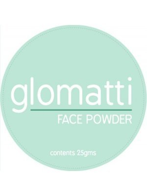 Glomatti Face Powder cosmetic Label