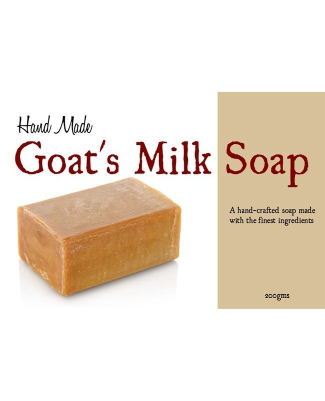 Hand Made Goat's Milk Soap Label