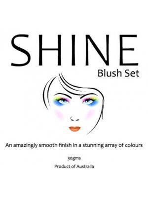 Shine Blush Makeup Label