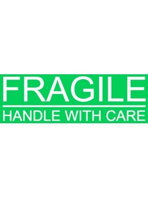 Fragile Handle With Care Warning Sign Sticker