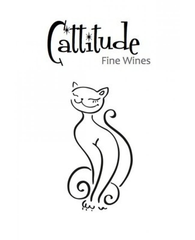 Cattitude Wine Label