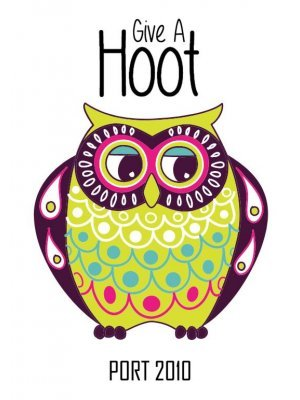 Give a Hoot Port Label