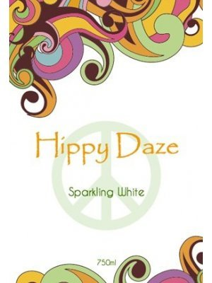 Hippy Daze Wine Label