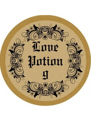 Love Potion Circle Wine Label